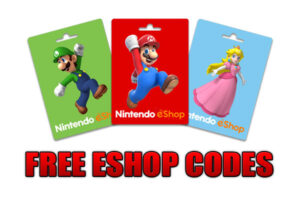 switch game codes free